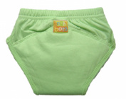 Bright Bots Washable Potty Training Pants with PUL Lining - Pale Green size Medium