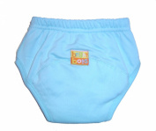 Bright Bots NEW Washable Potty Training Pants with PUL Lining - Turquoise size Extra Large