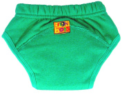 Bright Bots NEW Washable Potty Trainer Pants with PUL Lining Green Medium -approx 24 months