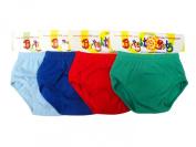 Bright Bots Washable Potty Training Pants 4pk Extra Large with PUL Lining - Boy