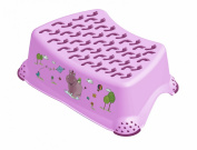 Hippo Baby Step Stool Lilac
