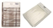 2 Pack Baby Blankets (1 Checked & 1 Cellular) By R Kids