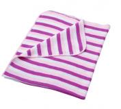 baroo Striped Pram Blanket