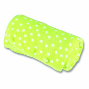 Baby Boum Double Layered Cotton Rich Towel and Lightweight Blanket in Random Spotty Design from the Youmi Scuba Range