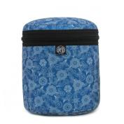Blue Flower Barney Bag by Duck Soup