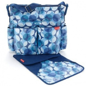 Skip Hop - Duo Glam Nappy Bag In Blue Teal