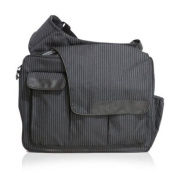 Nappy Dude Pinstripe Messenger II Bag