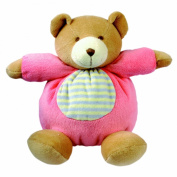Bino Cuddle Toy Bear (Pink)