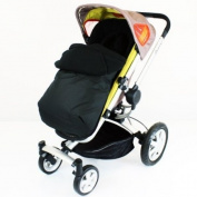 New Quinny Buzz Footmuff And Headhugger - Black