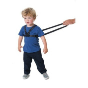 Red Kite Harness and Reins Black Reflective