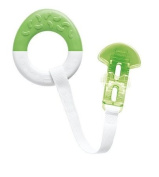 MAM Starter & Clip Teether - Green