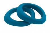 Jellystone Organic shaped teething bangle - Teal Coloured