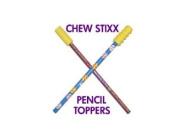 CHEWY STIXX PENCIL TOPPER TUBES