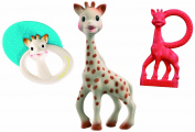 Vulli 516345 Sophie the Giraffe Baby Set with Teething Ring