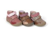 Babybotte Agata, Baby and Toddler Euro first walk shoe, velcro