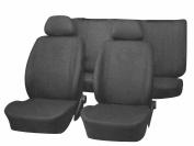 Unitec 84438 Power Seat Cover Neutral Black