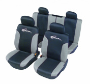 """Unitec 84430 Seat Cover Mesh """"Limited Edition Active"""" Anthracite"""