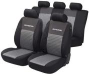 Unitec 'Sport' 84951 Car Seat Cover Set Grey