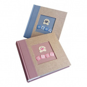 "Kenro LB102PK Little Bunny Album Memo 200 6x4"" (15.2x10.2cm) Pink"