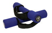 Fitness Mad Soft Dumbbells with Handles Blue 2 x 0.5Kg
