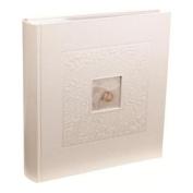 Kenro PL202 Pearl Rings Wedding 200 7x5 White Photo Album
