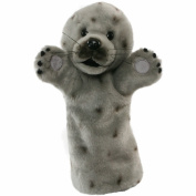 Long Sleeved Grey Seal Puppet