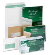 Basildon Bond L80281 Envelope C4 White Pocket 100gsm