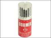 Dormer A191 No.413 HSS Drill Set In Plastic Case - Metric