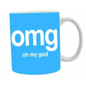 Oh My God Text Speak Mug OMG