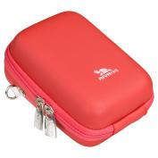Rivacase Riva 7024 PU Digital Camera Case, Red