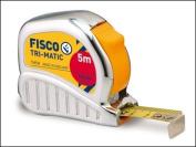 Fisco Tmc5m Chrome Tri-matic Tape 5m 19mm