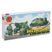 Bren Gun carrier And 6PDR Anti-Tank gun - 1:76 Scale - A01309- Airfix