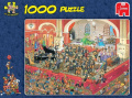 Jan Van Haasteren - The Opera St George & The Dragon 1000 Piece Jigsaw - Jumbo