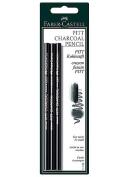 Faber-Castell - PITT Charcoal Pencils - Set of 3