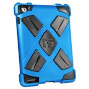G-FORM Extreme iPad Clip On Case, Blue Case/Black RPT
