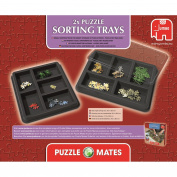 Puzzle Mates 2x Puzzle Sorting Trays - Jumbo