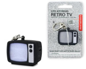 TV Static LED Keychain With Static Sound