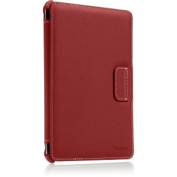 Red Twill Vuscape Protective Cover Stand For iPad mini