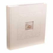 Kenro PL203 6x4 inch Photo Album 200 Pages - White
