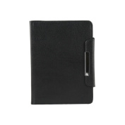Groov-E Genuine Leather Wallet Case for Kindle4/Kindle Touch - Black