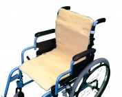 Pure Wool Double Wheelchair Seat and Back Cover