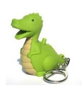 Dinosaur LED Keyring With Sound