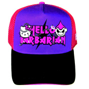 Hello Kitty Cap Barbarian KT Fits Adults and Older Children