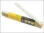 Stabila 1607 Wooden Folding Rule - 2m