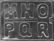 Home Chocolate Factory Large Letters M-R Chocolate Mould