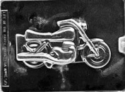 Home Chocolate Factory Motorcycle Chocolate Mould