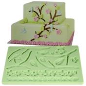 Lace Shaped Silicone Mould Fondant Cake Decoration Baking Tool