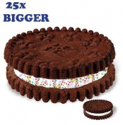 Giant Mega Cookie Mould Big Top Cake Baking Set Tin