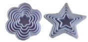 Set Of 5 Shaped Pastry Biscuit Cookie Cutter Set