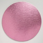 """10"""" 12mm Round Baby Pink Drum Cakeboard"""